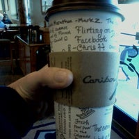 Photo taken at Caribou Coffee by Alexis B. on 10/15/2011