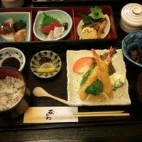 Photo taken at 和食 石かわ by M K. on 11/28/2011