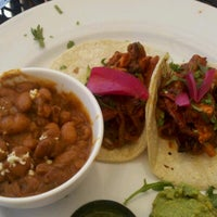 Photo taken at Zocalo Back Bay Mexican Bistro & Tequila Bar by iamreff on 8/15/2012