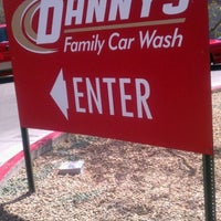 Photo taken at Danny's Family Car Wash by Norma A. on 3/27/2012