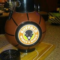 Photo taken at Buffalo Wings & Rings by Clarissa D. on 3/24/2012