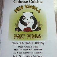 Photo taken at New Kahala Chinese Cuisine by Robbie © on 5/31/2012