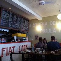 Photo taken at Fiat Café by Alexander S. on 3/26/2012