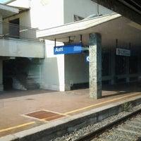 Photo taken at Stazione Asti by Max M. on 8/9/2012