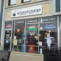 Photo taken at Wunderground Magic Shop by Julie A. on 9/23/2011