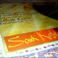 Photo taken at Souk Kafe by Blessy H. on 6/22/2012