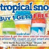 Photo taken at Tropical Snow Bryant by Ed C. on 4/13/2012