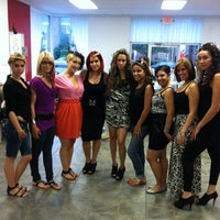 Photo taken at Exquisite hair salon by Ralph C. on 11/18/2011