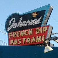 Photo taken at Johnnie's Pastrami by Aaron S. on 12/26/2011