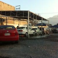 Photo taken at Manotas Car-Wash by Itzel B. on 1/15/2012