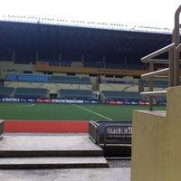 Photo taken at Stadium Hoki Nasional by Ezuan G. on 9/25/2011