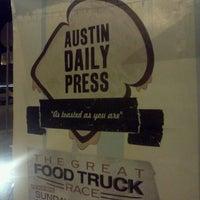 Photo taken at Austin Daily Press by John L. on 9/29/2011