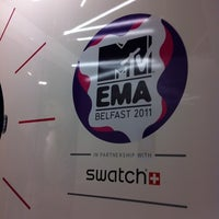 Photo taken at Swatch Showroom Victoria Square by MalibuAmy T. on 10/14/2011