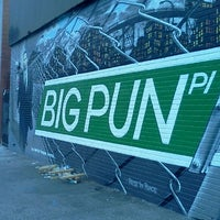 Photo taken at Big Pun Memorial Mural by ife on 12/18/2011