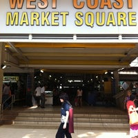 Photo taken at West Coast Market Square (Market & Food Centre) by gerard t. on 9/18/2011