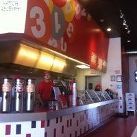 Photo taken at Mooyah Burger by David F. on 4/25/2012