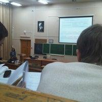 Photo taken at 120 аудитория by Olya K. on 10/8/2011