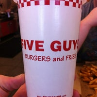 Photo taken at Five Guys by Timothy M. on 1/4/2012