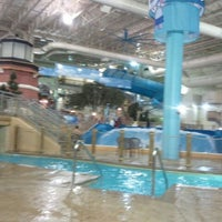 Photo taken at Water Park Of America by Angie on 1/3/2012