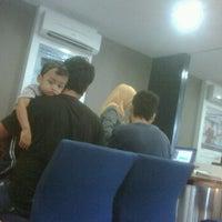 Photo taken at Bank Mandiri by Sakti P. on 1/24/2012