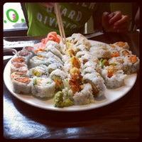 Photo taken at Sushi Para II by Kay H. on 7/22/2012