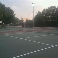 Photo taken at Fort Lee Rec Tennis Courts by John K. on 9/14/2011