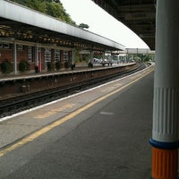 Photo taken at Brockenhurst Railway Station (BCU) by Ben G. on 8/6/2011