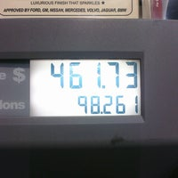 Photo taken at Chevron by Katie P. on 3/9/2012