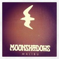 Photo taken at Moonshadows by Ayda on 8/12/2012