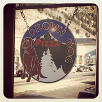 Photo taken at Brown Dog Pizza by Marissa H. on 12/28/2011
