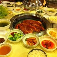 Photo taken at Daorae Korean BBQ Restaurant by Doris Q. on 11/12/2011