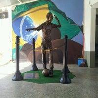 Photo taken at Museu do Futebol by Monchol P. on 3/12/2012