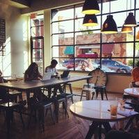 Photo taken at Toby's Estate Coffee by David J. on 6/16/2012