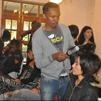 Photo taken at Lajawi Beaute Cafe by Lerato L. on 1/22/2012