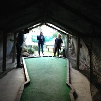 Photo taken at Barnacle Bay Mini Golf by Bruno T. on 12/28/2011