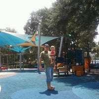 Photo taken at Lake Eola Playground by David C. on 8/16/2011