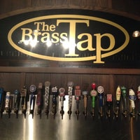Photo taken at The Brass Tap by Dom D. on 7/18/2012