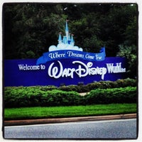 Photo taken at Walt Disney World Entrance by Reziel Júnior S. on 6/2/2012