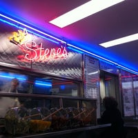 Photo taken at Steve's Prince of Steaks by Brett G. on 2/11/2011