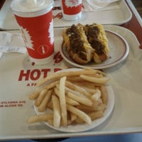 Photo taken at Rudy's Hot Dog by Joel S. on 5/30/2012