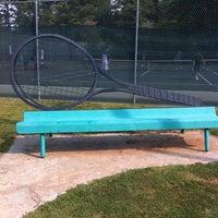 Photo taken at Newtown Tennis Courts by Sue F. on 9/3/2011
