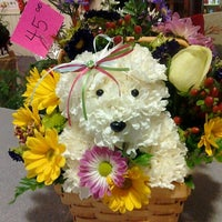 Photo taken at The Family Flower Shoppe by Sara S. on 12/20/2011