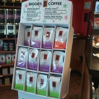 Photo taken at BIGGBY COFFEE by Leola D. on 10/11/2011