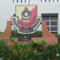 Photo taken at Sekolah Sultan Alam Shah (SAS) by Aishah A. on 7/3/2012