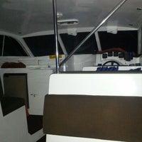Photo taken at Huvafenfushi Staff Ferry by Naxru E. on 7/20/2012
