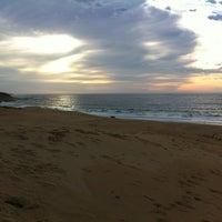 Photo taken at Sardinia Bay Beach by Richard W. on 12/26/2011