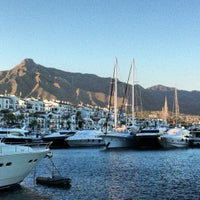 Photo taken at Puerto Banús by Elsinyoor K. on 6/20/2012