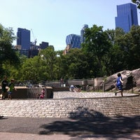 Photo taken at Heckscher Playground by Richard C. on 7/6/2012