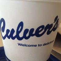 Photo taken at Culver's by Brian J. on 4/22/2012