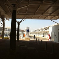 Photo taken at Gautrain Pretoria Station by Nico R. on 8/6/2011